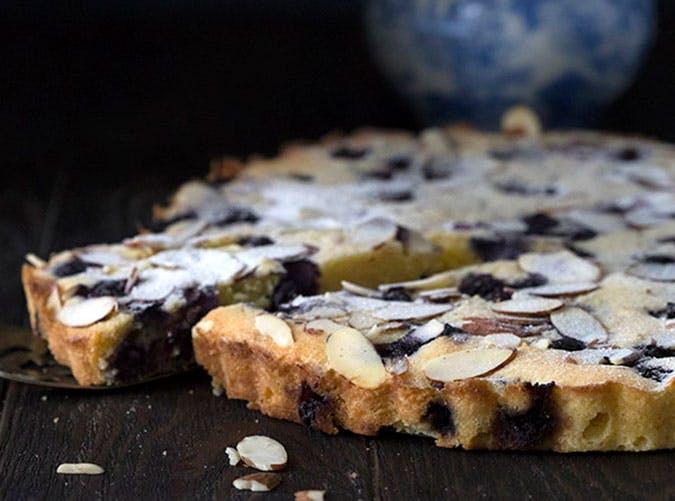 Keto Diet Blueberry Bakewell Tart1