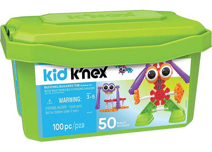 Kid K Nex Budding Builders Tub Building Kit  Varies By Model