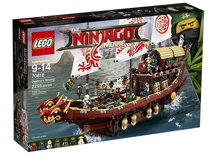 LEGO Ninjago Movie Destiny s Bounty 70618 Building Kit