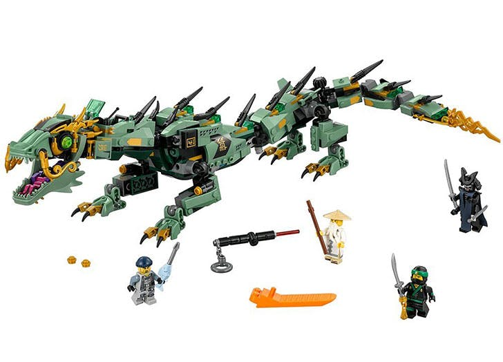LEGO Ninjago Movie Green Ninja Mech Dragon 70612 Building Kit