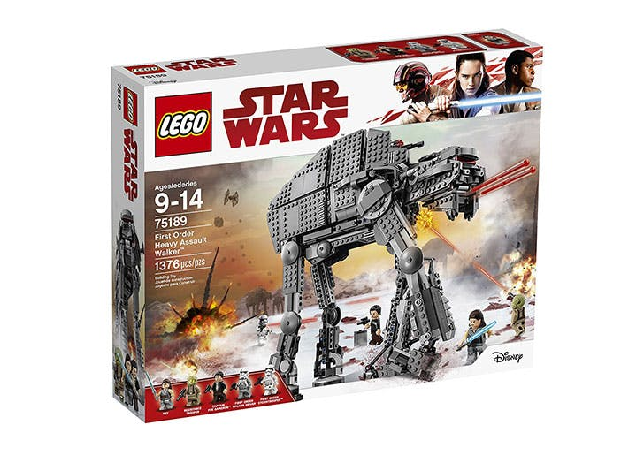 LEGO Star Wars First Order Heavy Assault Walker 75189 Building Kit