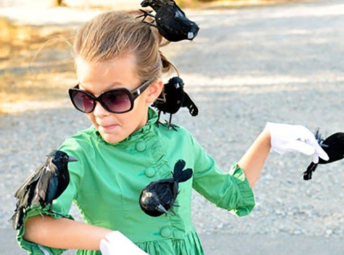 Last minute Birds the movie Halloween costume idea for kids1