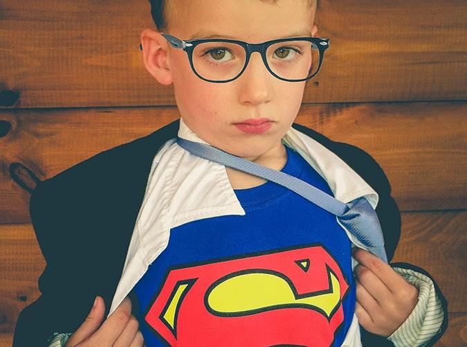 Last minute Halloween superhero costume idea for kids1  sc 1 st  PureWow & 14 Last-Minute Halloween Costume Ideas for Kids - PureWow
