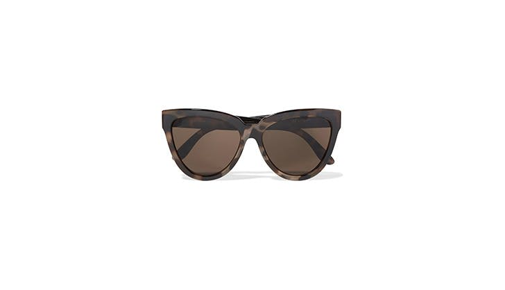 Le Specs tortoise cat eye sunglasses