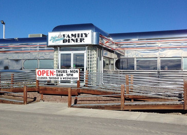 Little Richards Family Diner in North Pole Alaska