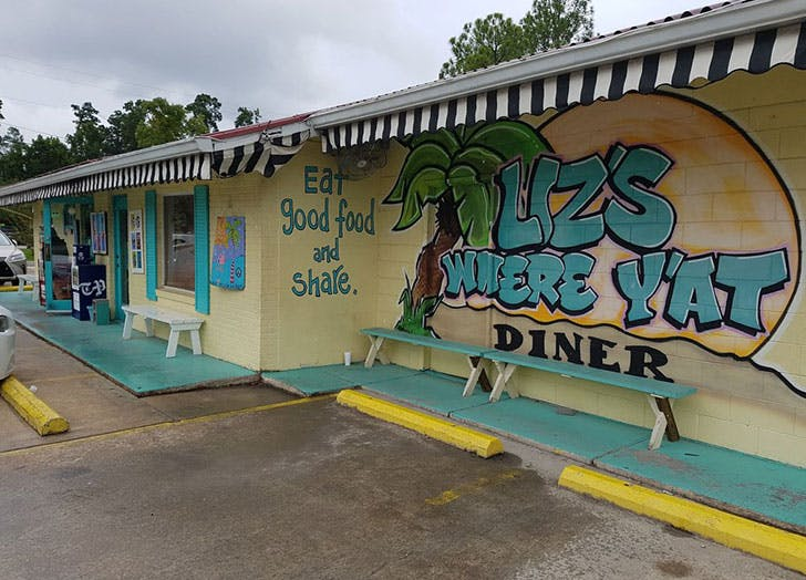 Lizs Where Yat Diner in Mandeville Louisiana