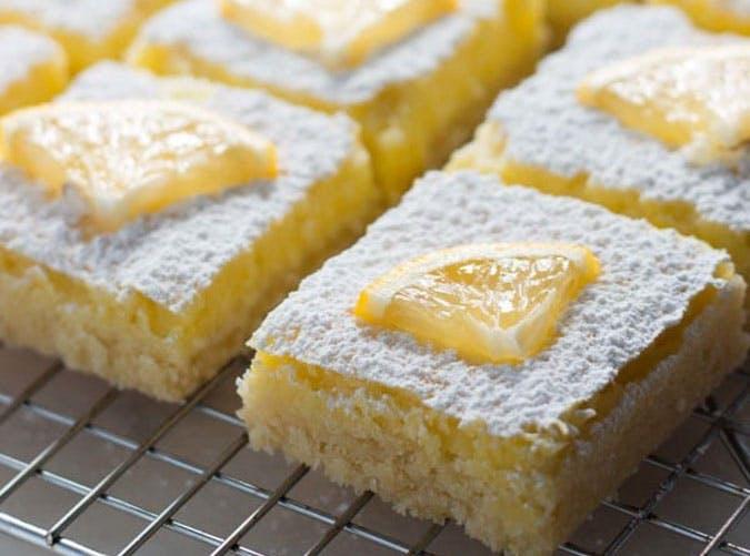 Low Carb Keto Diet Lemon Bars
