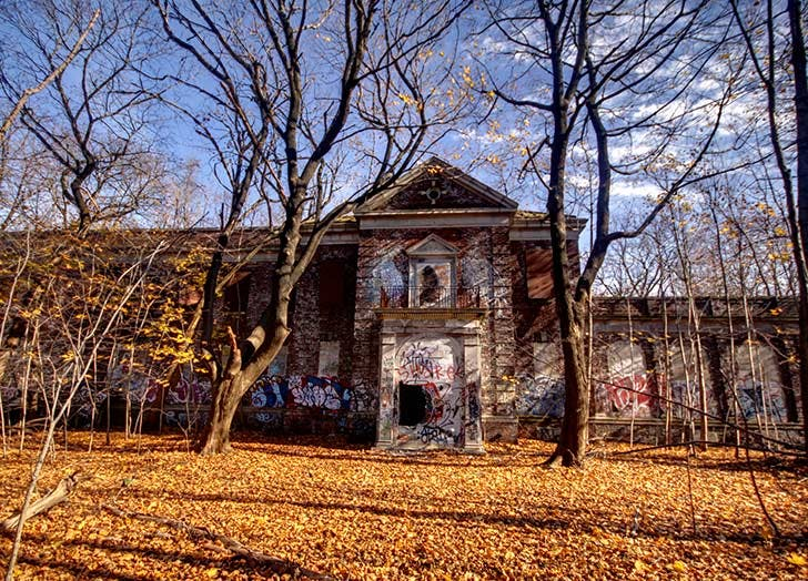 NY haunted places seaview LIST