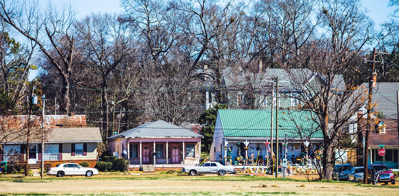 Natchez town in Mississippi