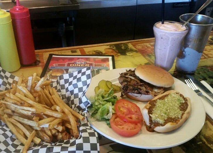 Oklahoma  Sids Diner food