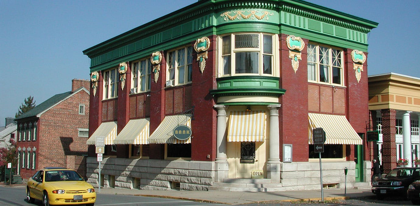 Old Bank Building in Shepherdstown West Virginia