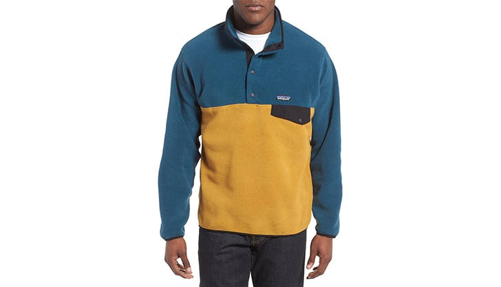 Patagonia colorblock fleece