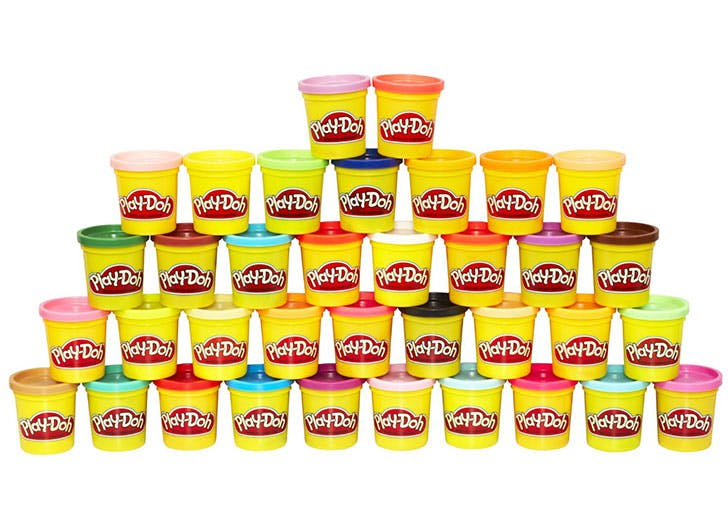 Play Doh 36 Can Mega Pack