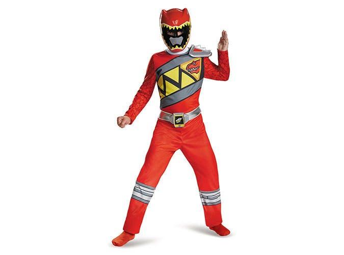 Power Rangers superhero Halloween costume for kids