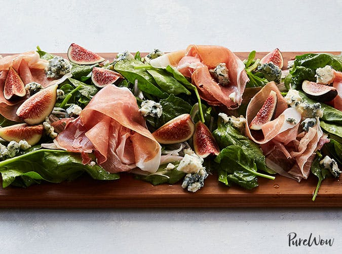 Prosciutto and Fig Salad Board