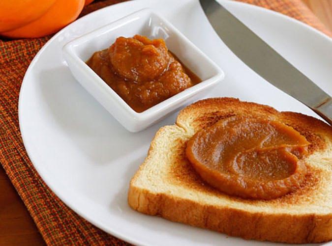Pumpkin Butter recipe made with canned pumpkin