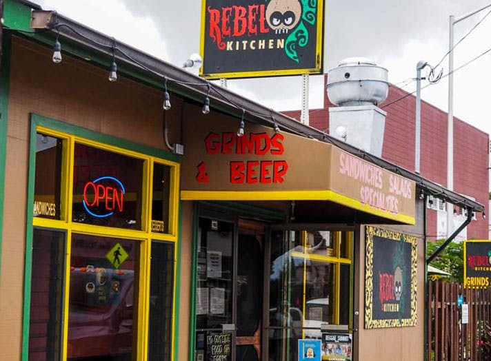 Rebel Kitchen diner in Kealakekua Hawaii