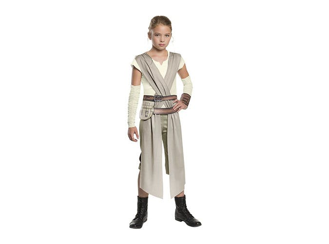 Rey from Star Wars Halloween costume for girls