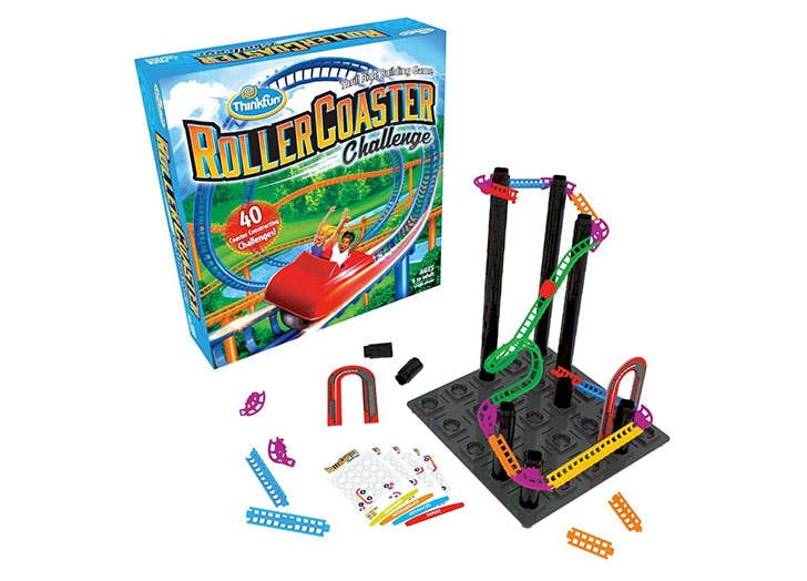 Roller Coaster Challenge Logic   Building Game