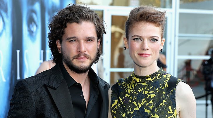 Rose Leslie Made Kit Harington Dress Up as Jon Snow  Because He Knows Nothing