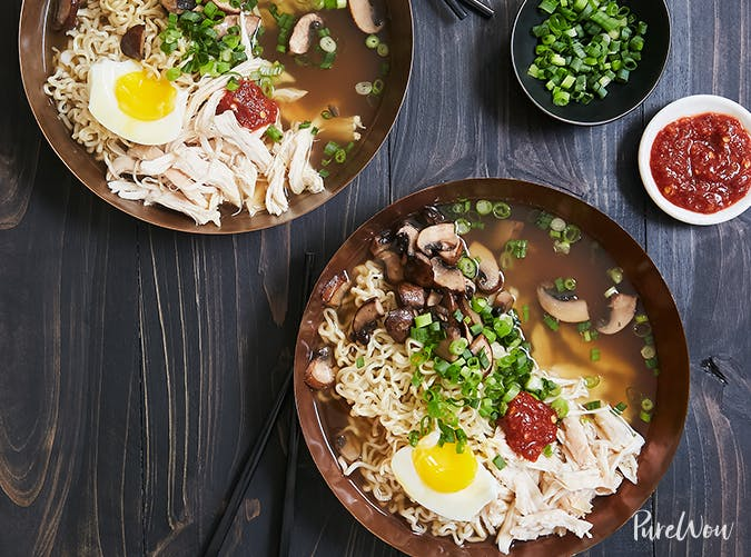Rotisserie Chicken Ramen november meal ideas