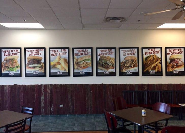 SanguChe diner in Naperville Illinois