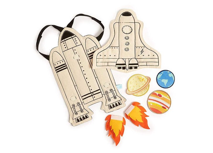 Seedling Littles Galaxy Rocket Adventure Cape Costume Kit