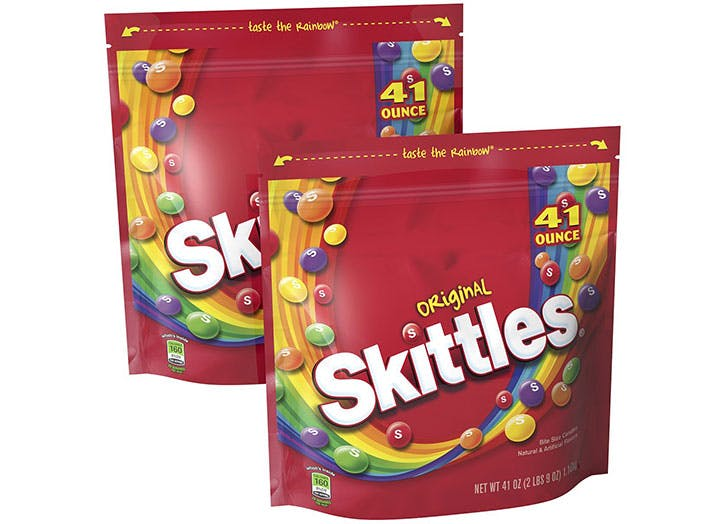 Skittles allergy friendly Halloween candy