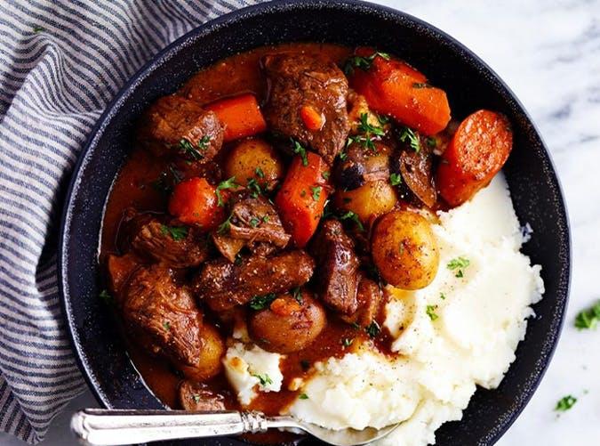 Slow Cooker Beef Bourguignon november meal ideas