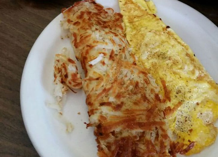South Dakota  Rosies Cafe eggs and hashbrowns
