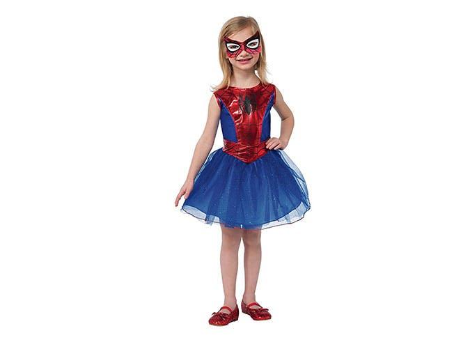 Spider Girl superhero Halloween costume for kids