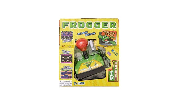 Spring At Home Frogger