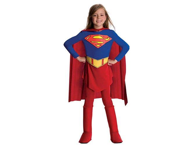 SuperGirl Halloween costume for kids