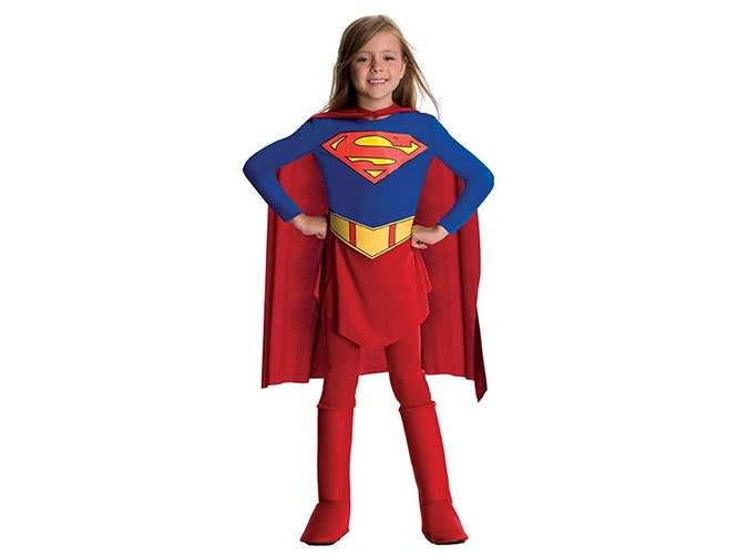 SuperGirl Halloween costume for kids  sc 1 st  PureWow & The 14 Best Superhero Costumes for Kids in 2017 - PureWow