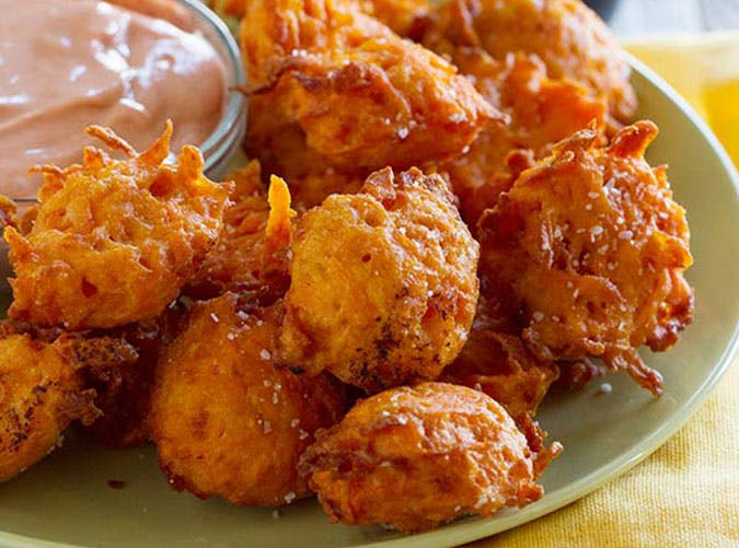 Sweet Potato Tots with Creamy Ketchup tasteandtellblog.com 1