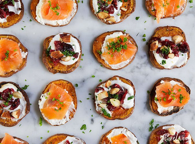 Sweet potato crostini1
