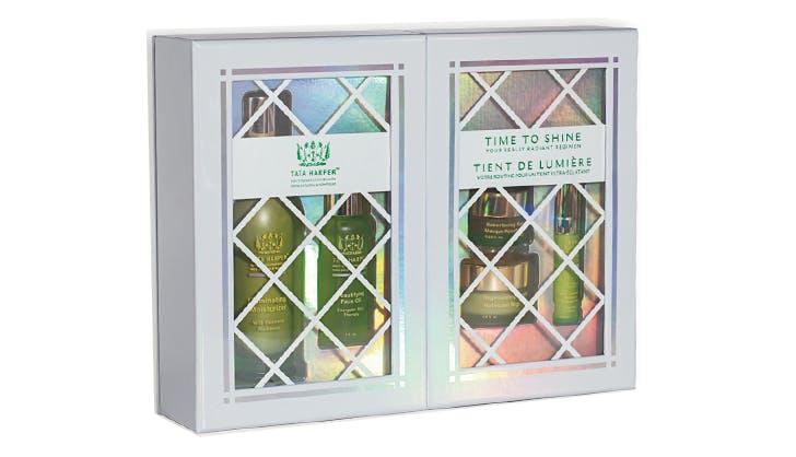 Tata Harper Time to Shine Kit natural beauy gift guide