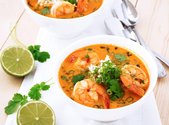 Thai Shrimp Soup whole30 recipes