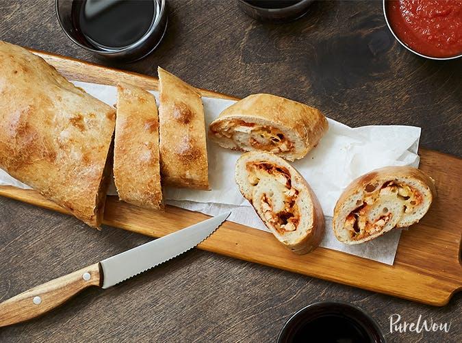 Turkey Stromboli november meal ideas