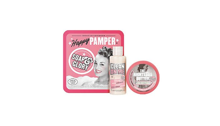 Ulta Beauty Gifts under  10   soap and glory pamper set