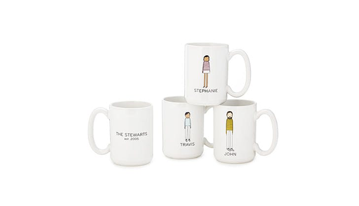 Uncommon Goods personalized coffee mugs