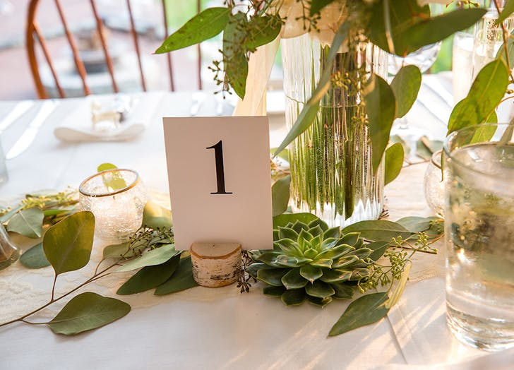 VT Wedding Tablegreens1