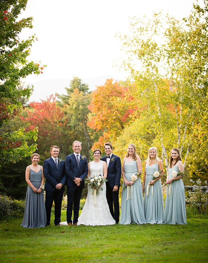 VT Wedding bridalparty