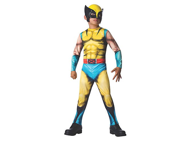 Wolverine Superhero Halloween costume for kids