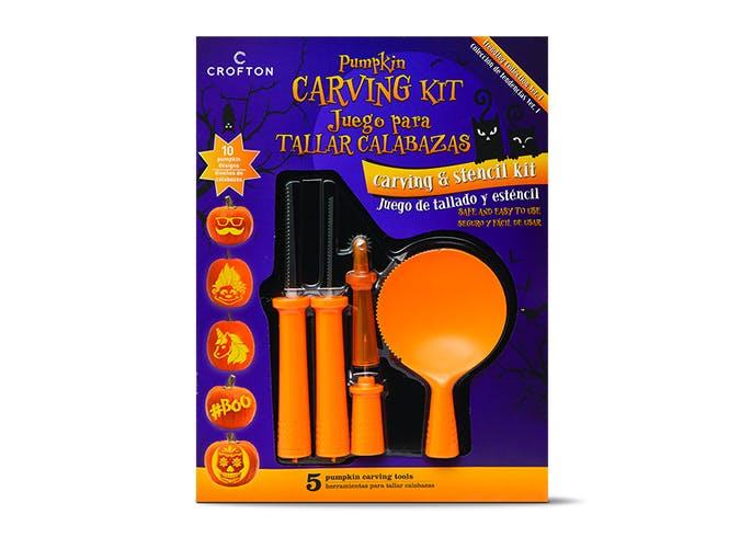 aldi pumpkin carving kit SLIDE