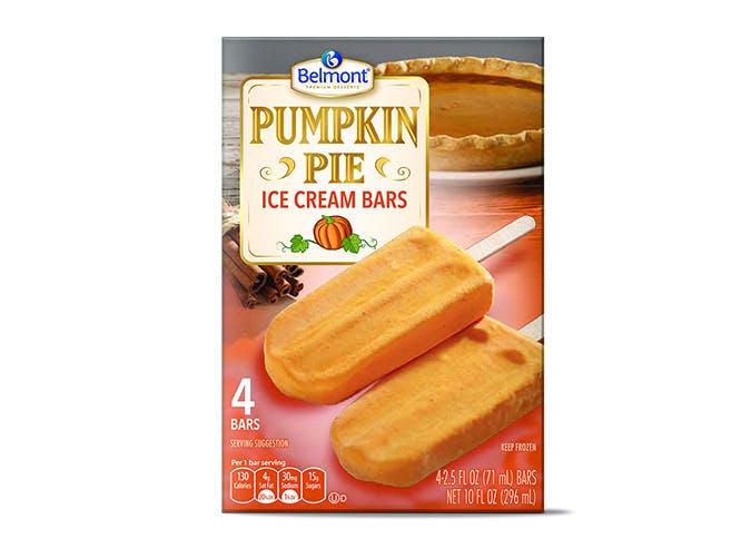 aldi pumpkin ice cream bars SLIDE