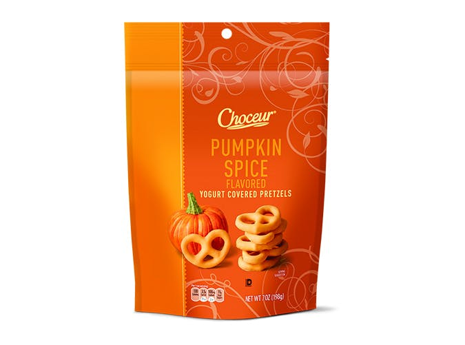 aldi pumpkin spice pretzels SLIDE