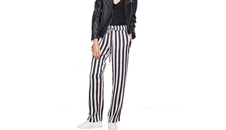 anine bing pajama striped pants