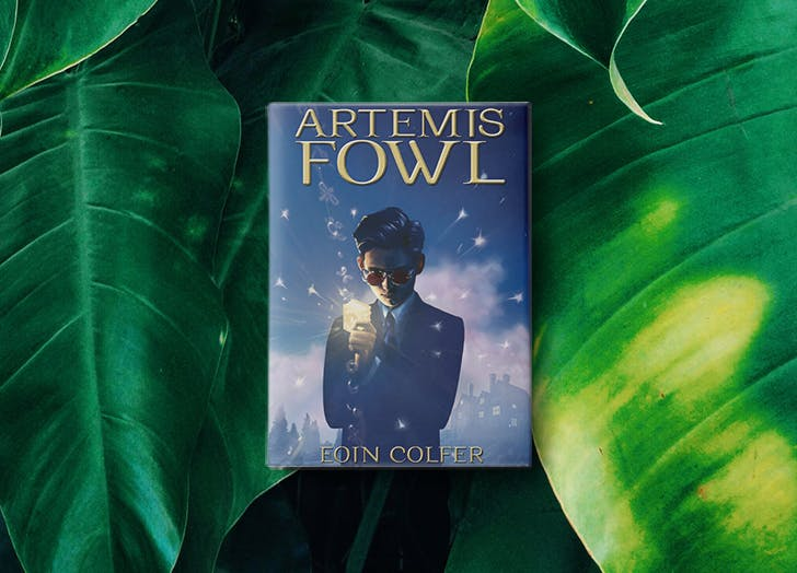 artemis fowl pretten boy books LIST