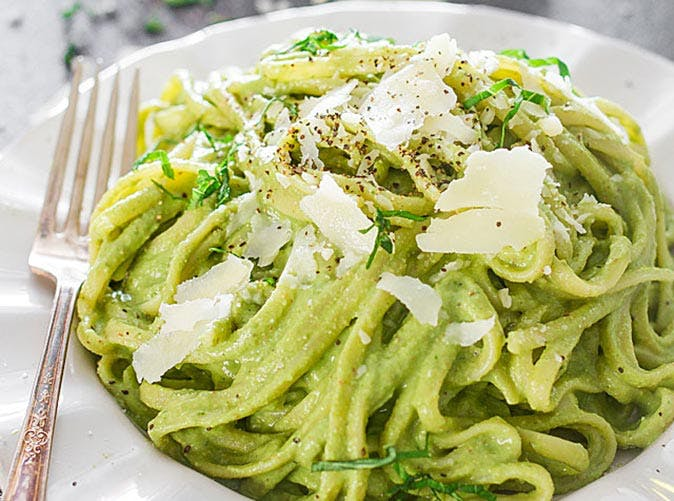 avocado and spinach pasta 501